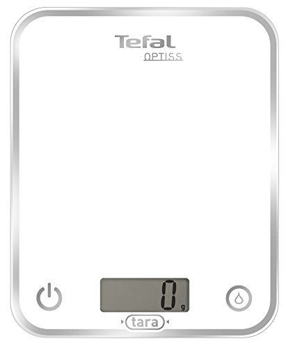 Tefal Optiss - Báscula de cocina (Color blanco)