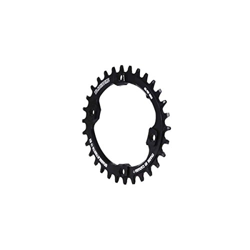 BLACKSPIRE Corona anticaduta Snaggletooth Ovale 30t BCD96 per Shimano XT M-8000 (Monocorone) / Snaggletooth Oval Chainring 30T BCD 96 for Shimano XT M8000 (Narrow-Wide)