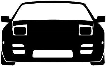 JDM Nissan 240SX S13 - Sticker Graphic - Auto, Wall, Laptop, Cell, Truck Sticker for Windows, Cars, Trucks