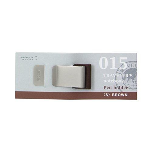 Midori Traveler's notebook Pen holder, brown 015