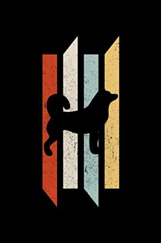 Siberian Husky Retro: A5 Liniertes Notizbuch auf 120 Seiten - Sibirischer Husky Notizheft   Geschenkidee für Hundebesitzer, Hunde Liebhaber, Coach und HundeTrainer