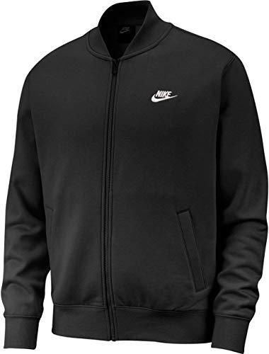 Nike Club Fleece Bomber Jacket Jacke (black, s)