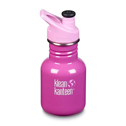 Klean Kanteen Unisex– Babys Classic Trinkflasche, Bubble Gum, 355ml