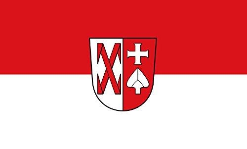 Unbekannt magFlags Tisch-Fahne/Tisch-Flagge: Ditzingen 15x25cm inkl. Tisch-Ständer