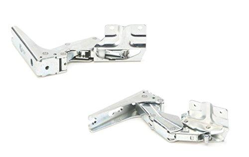 DREHFLEX - TS21-ORIGINALE - Set di cerniere per porte per frigorifero Bosch/Siemens/Neff - adatto al codice 12004051 - composto da 00267189 + 00267190 - prodotto da Hettich