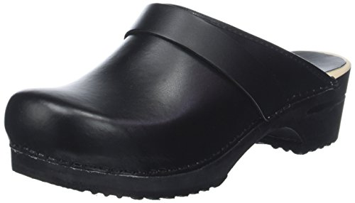 Sanita Women's Clogs, Black 2, 9
