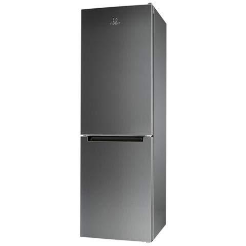 Indesit LI80 FF1 X Frigo-Congelatori (297 L, SN-T, 3 kg / 24h, A +, scomparto zona fresca), Grigio, Acciaio Inossidabile