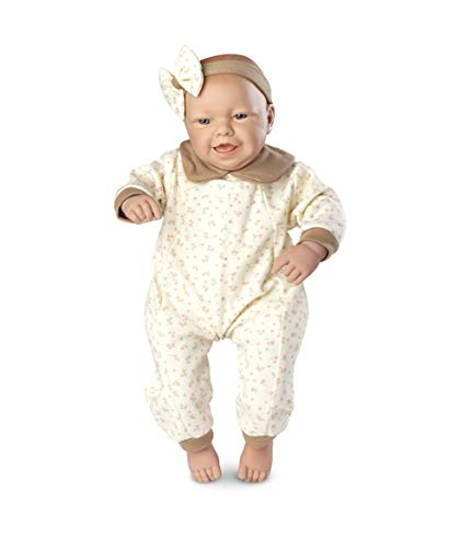 Boneca Bebê Real Expressões - Alegre Roma Jensen Boneca Branca
