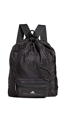 adidas by Stella McCartney Women's Gymsack, Black/White, One Size