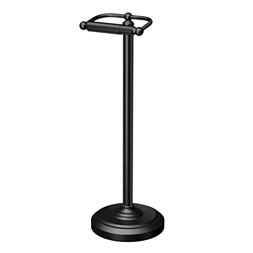 Top 10 best selling list for free standing toilet paper holder in black