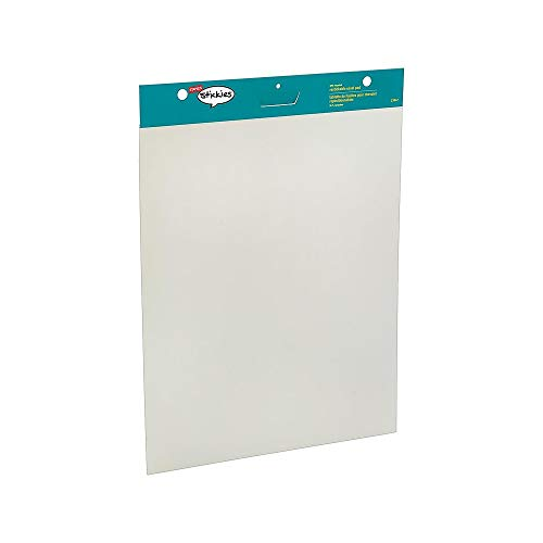 Staples 958103 Stickies Easel Pads 25-Inch X 30-Inch White 30 Sheets/Pad 2 Pads/Ct