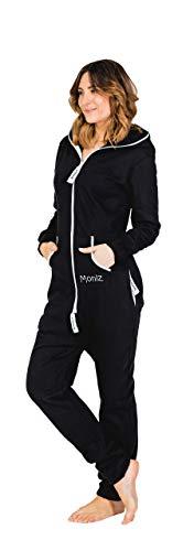 Moniz Damen Jumpsuit, schwarz, Größe M