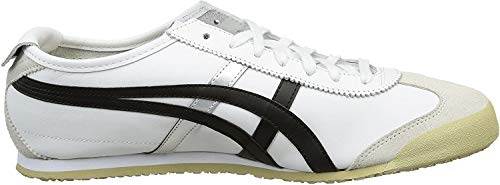 Asics Onitsuka Tiger Mexico 66, Zapatillas Unisex Adulto, Blanco (White/Black 0190), 44.5 EU