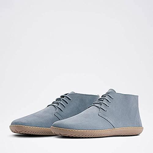 GROUNDIES® Milano Soft Men - Herren Barfußschuh Blau 44