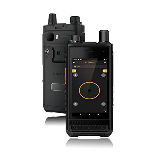 ONETHINGCAM E966P Worldwide Talk 4G LTE Network SmartPhone Radio de dos vías Walkie Talkie, pantalla táctil de 4 pulgadas, doble SIM, compatible con Android 10.0 OS REALPTT o ZELLO Talk Platform