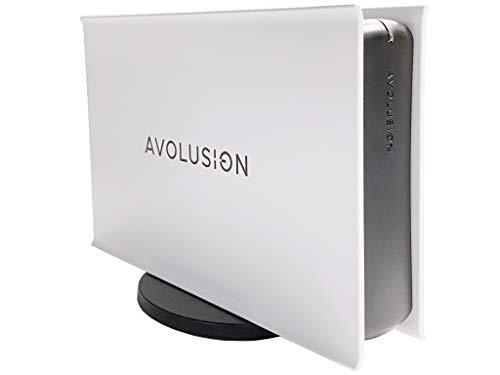 Avolusion PRO-5X Series 4TB USB 3.0 External Gaming Hard Drive for Xbox One Original, S & X (White)