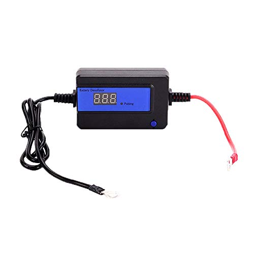 200AH Auto Pulse Battery Desulfator für 12/24/36 / 48V Blei-Säure-Batterien mit Kreisring