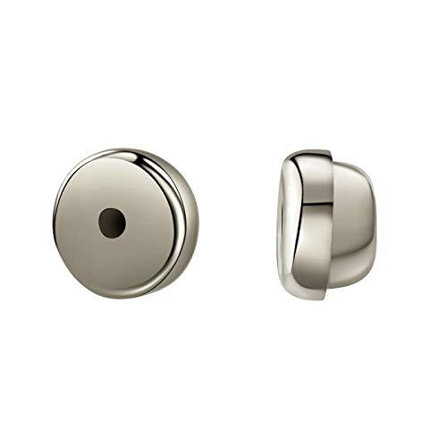 Ohrring Verschlüsse aus 925 Sterlingsilber oder Gold 585 - Silber & Silber vergoldet - Gelbgold & Weißgold - Ohrring Ersatzverschlüsse Pousseten Ohrstopper Sicherheitsverschluss