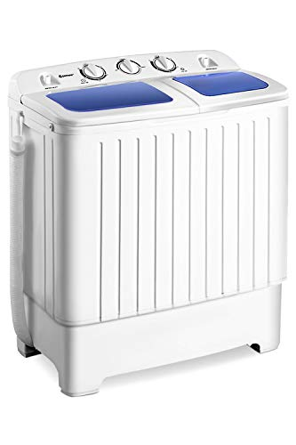 Giantex Portable Mini Compact Twin Tub Washing...