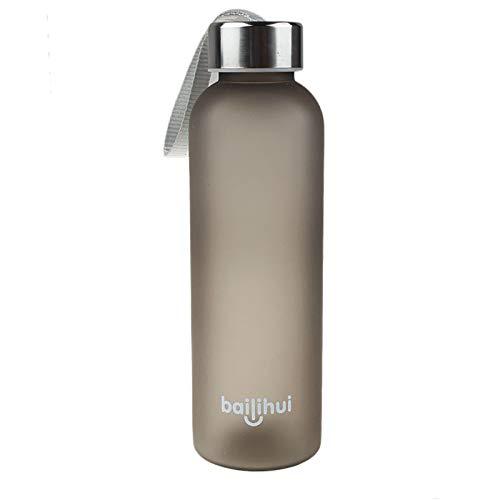 URSING Bouteille d'eau de Sport - sans BPA & Anti Fuite, Respectueux de l'environnement, Réutilisable Plastique Bouteilles de Gym pour 602ml