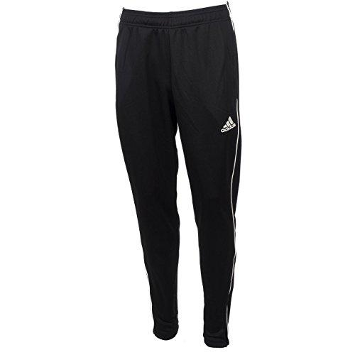 adidas Core 18 TP, Pantaloni da Allenamento Uomo, Nero (Black/White), M