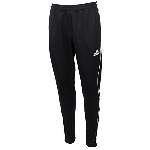 adidas Men Core 18 Training Pants - Black/White, X-Larg