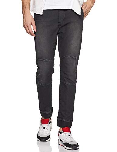 Lee Cooper Men's Jeggings Jeans (Jogg 269_Black_32W x 33L)