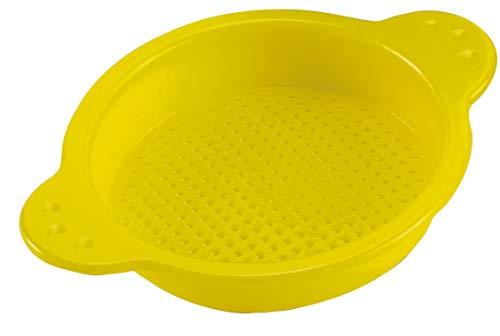 Hape E8198 - Kleines Sieb, Strandspielzeug/Sandspielzeug, gelb