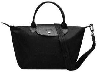 Longchamp Bag For Women, Black - Tote Bags