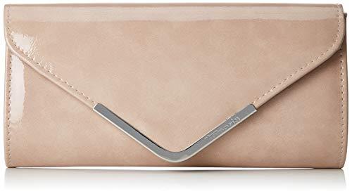 Tamaris Damen Brianna Clutch Bag, Pink (Rose), 5x12x26 cm