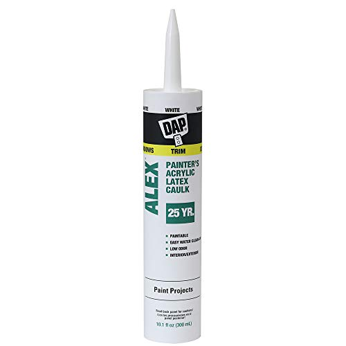 DAP 7079818670 Alex Painter'S (18065) Raw building material, 10.1 oz, White