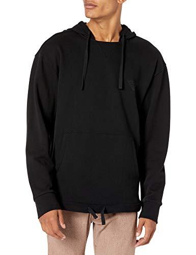 Emporio Armani Underwear Herren Loungewear Sweatshirt, Nero-Black, XL
