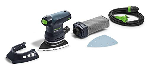 FESTOOL DTS 400 Req Delta Sander 250 W Black, Blue – Power Sanders (1.2 kg, 250 W)