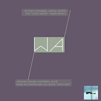 Wa (Univers sonore sensoriel actif pour accompagner les soins anti âge)