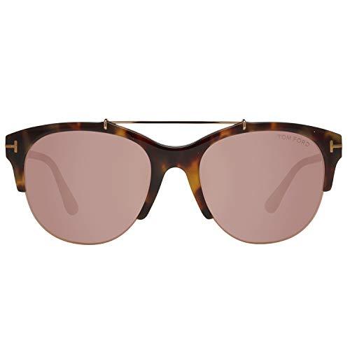 Tom Ford FT0517 5556Z Tom Ford Sonnenbrille FT0517 56Z 55 Schmetterling Sonnenbrille 55, Braun