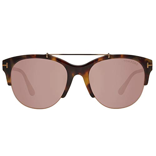 Tom Ford FT0517 5556Z Tom Ford Sonnenbrille FT0517 56Z 55 Schmetterling Sonnenbrille 55, Braun