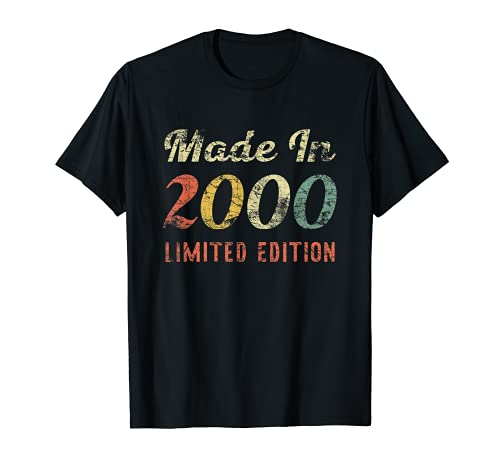 21st Birthday For Men & Women Born In 2000 T-Shirt