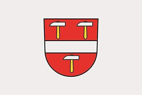 U24 Aufkleber Schönenberg (Schwarzwald) Flagge Fahne 8 x 5 cm Autoaufkleber Sticker