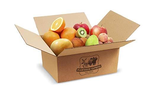 Obstauswahl fürs Büro oder Zuhause, Direktimport, handverlesene Produkte, exotisch und regional,Plantagen Express Plantagenbox klein