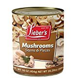 Lieber's Mushrooms Stem Pieces New products world's highest quality popular KFP Online limited product Of 16 Oz. Pack 6.