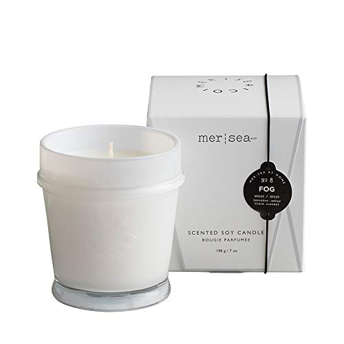 Mer Sea Luxury Scented Candle - Fog, 7 Oz