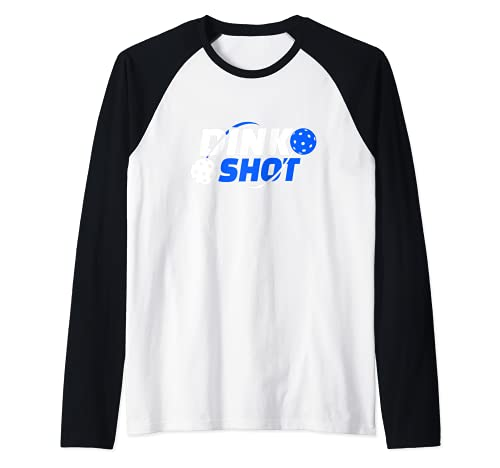 Regalo para el jugador que se retira del mundo del picklebal Camiseta Manga Raglan