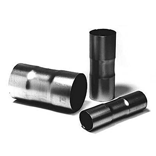 Universal Bosal Connecteur du Tube d'Échappement Ø 38 mm Manchon Double Élargi de Deux Cotés pour Voitures - Camions