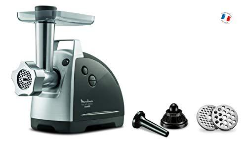 Moulinex ME686832 - Picadora eléctrica (2200 W, 2 Rejillas de trituración, Accesorios...