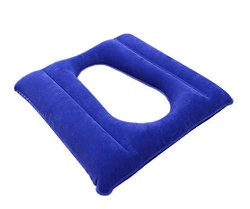 GHzzY Anti-Dekubitus-Patienten-Luftkissen mit Loch - Aufblasbares Luftkissen Geeignet für Rollstuhl, Toilettenstuhl und Bettpflege zur Druckentlastung
