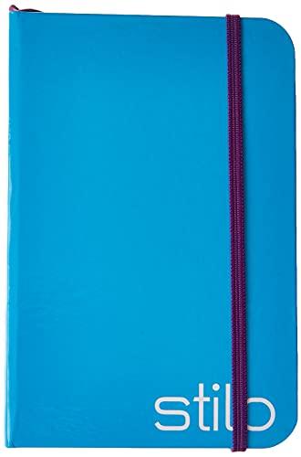 Caderneta Anotação 95X140MM P 80Fls Stilo Azul Neon, Jandaia