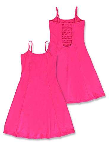 Lemon Beret Teen Girls Dress Vestido Informal, Beetroot Purple, 14 años para...