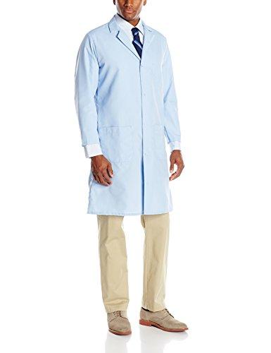 Red Kap Men's Lab Coat, Light Blue, Medium