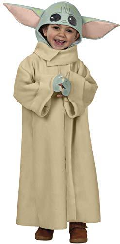 Rubies - Disfraz oficial para bebé Yoda, niño ST-702202S, beige, S