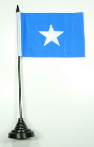 Tischflagge Somalia Flagge Fahne 10 x 15 cm FLAGGENMAE® Tischfahne